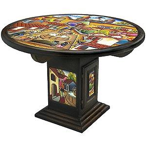 Round PuebloDining Table