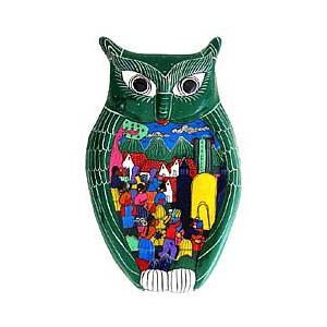 Large Green Owl