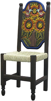 Woven Sunflower Chair