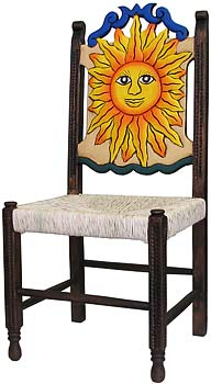 Large Woven Sun Chair