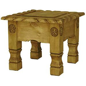 Texana Star End Table