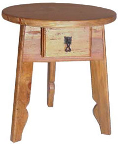 Stool w/Drawer