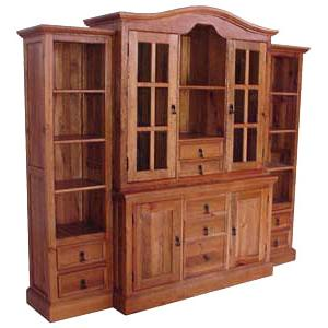 Durango Armoire w/ Hacienda Side Towers