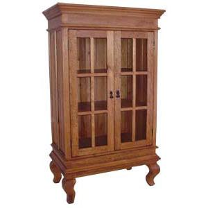 Morelia Armoire w/Glass Doors