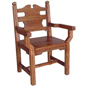 Santa Clara Chair w/Arms