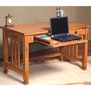 Rustic OakLaptop Desk