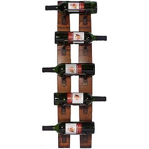 5 Bottle Wall Rack
