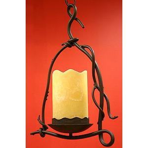 Ramas CollectionSingle Light Chandelier