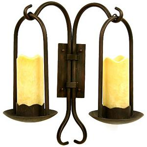 Castillo Collection Double Wall Sconce