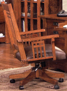 Mission OakOffice Arm Chair