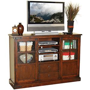 Santa FeCounter Height TV Console