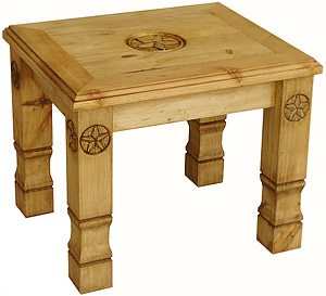 Julio 9-Star End Table