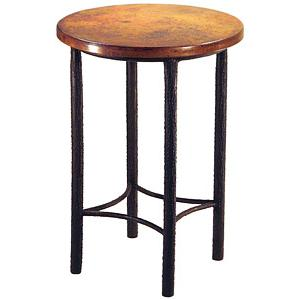 Bark Textured Bistro Table