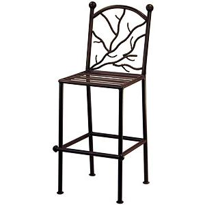 Twig Back Bar Stool