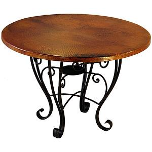 Round Placencia Dining Table