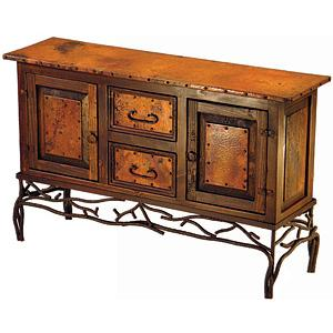 2-Door/2-Drawer TwigConsole Table