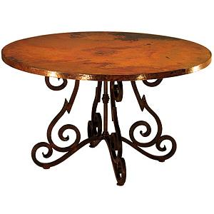 Round HeavyQuebrada Dining Table