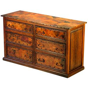 6-Drawer Low Boy Dresser