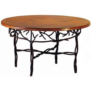 Round Twig Dining Table