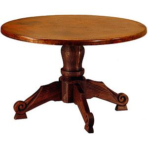 Round Carmen WoodenDining Table