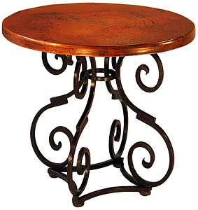 Round Aztec Dining Table