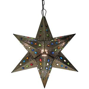 Acapulco Star w/Marbles:Oxidized Finish