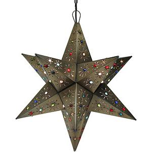 Tonala Star w/Marbles:Oxidized Finish