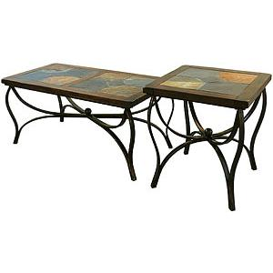 Santa FeInlaid Iron Tables