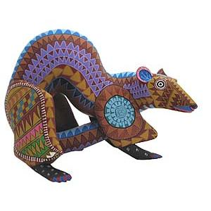 Oaxacan Woodcarvingby Moises Cortez