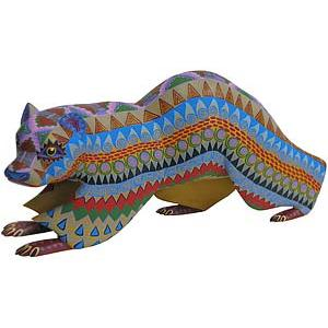 Oaxacan Woodcarvingby Martin Pacheco
