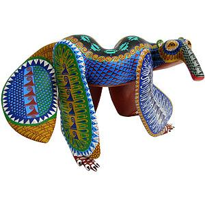 Oaxacan Woodcarving by Demetrio Cortes