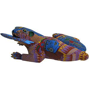 Oaxacan Woodcarvingby Family Cortes