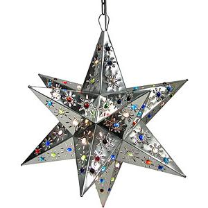 Tonala Star w/Marbles:Natural Finish