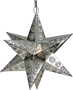 Durango Hanging Star:Natural Finish
