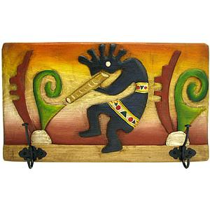 Kokopelli Coat Rack