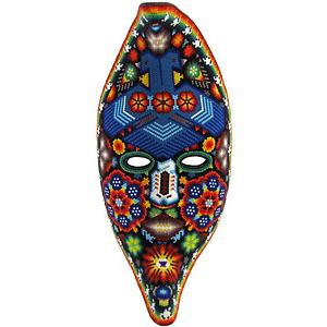 Huichol Moon Mask