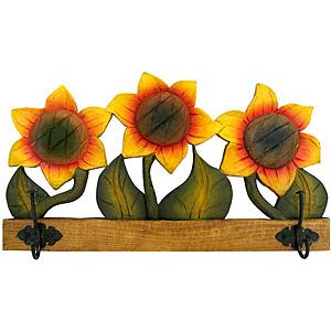 Sunflower Coat Rack