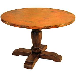 Round Wooden PedestalDining Table