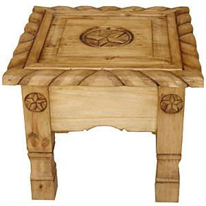 Texana Nine Star End Table