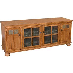 Rustic Oak72 TV Console