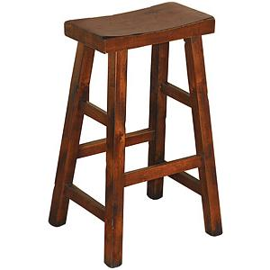Santa FeSaddle Seat Bar Stool