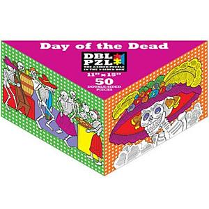 Day of the Dead2-Sided Puzzle for Kids