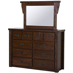 Barnwood 10-Drawer Dresser
