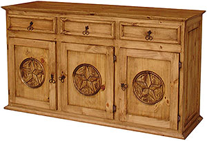 Large Texas Cabinet
