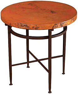 Round Sencillo End Table