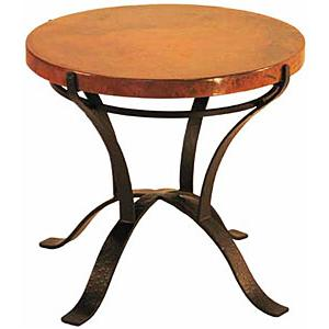 Round Solera End Table
