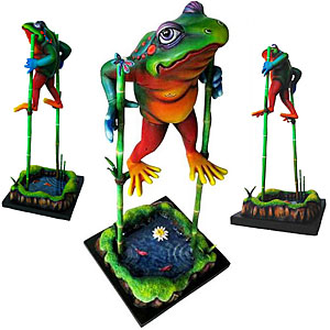 Frog Tall Tails