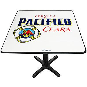 Pacifico ClaraMetal Pedestal Table