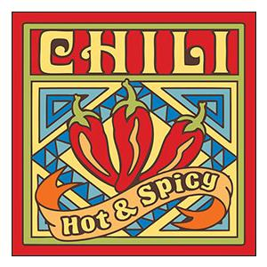 Chili Pepper Ceramic Tile