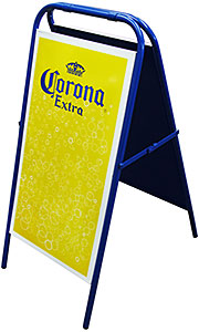 Corona A-FrameRestaurant Sign